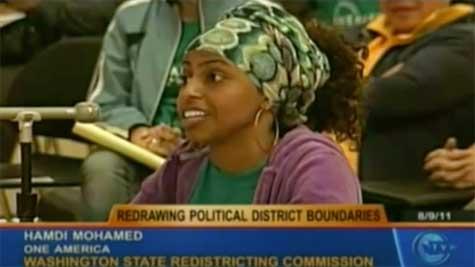 Washington State Redistricting Hearing in 2011