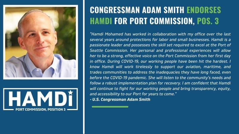 Congressman Adam Smith