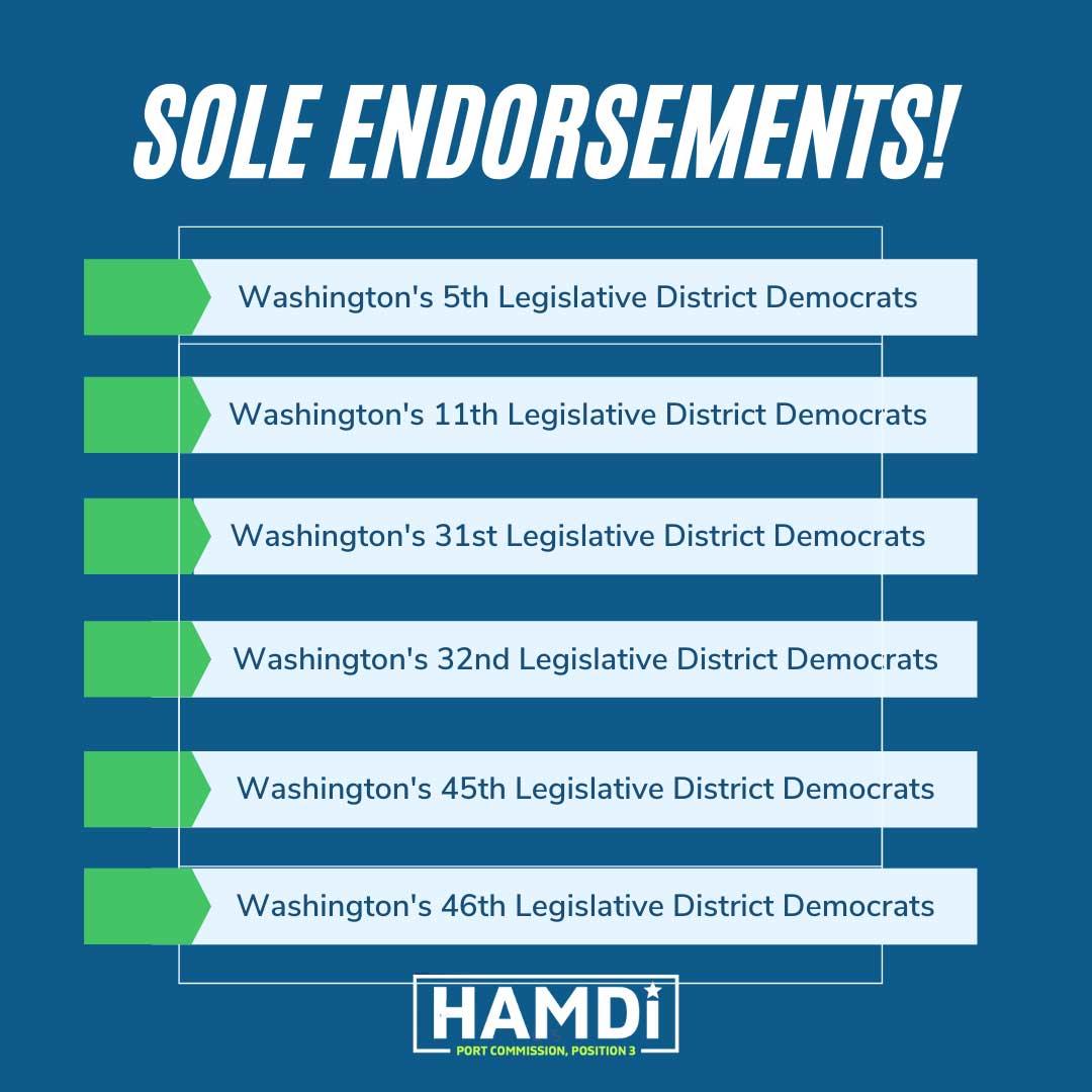 Legislative District Endorsements