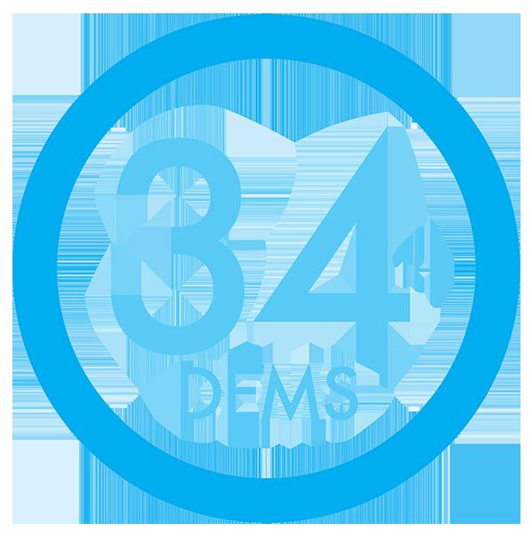 34 Democrats