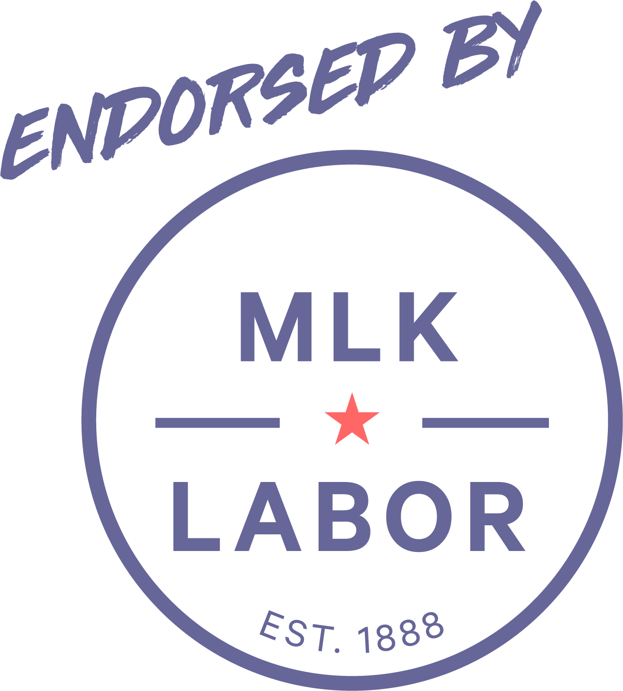 Endorsed By MLK Labor